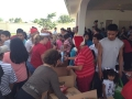 Helping the working poor on Christmas Eve Day, 2015