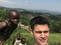 Clifford Tewis (Cliff Tewis) -- Selfie with some new friends in Kenya