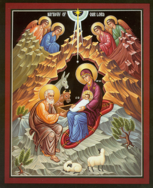 The Nativity of Our Lord and Savior Jesus Christ