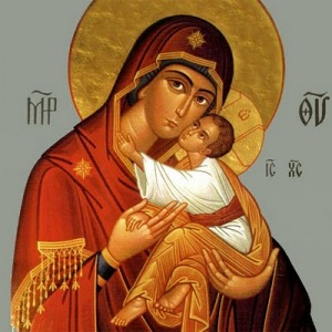 The Theotokos and Christ