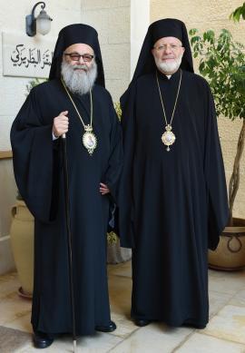 Patriarch John X and Metropolitan Joseph