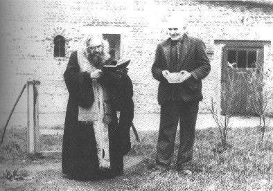 St. John Maximovitch blessing a garden