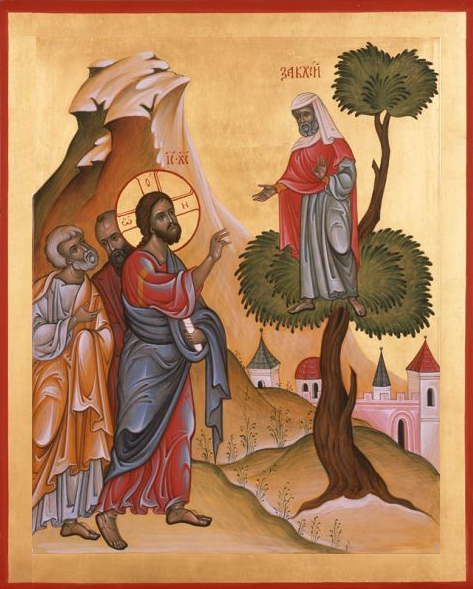 Jesus Calling Zacchaeus