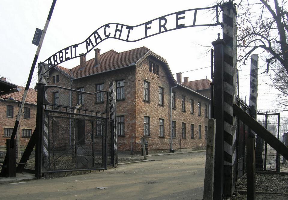 Gate of Dachau Concentration Camp