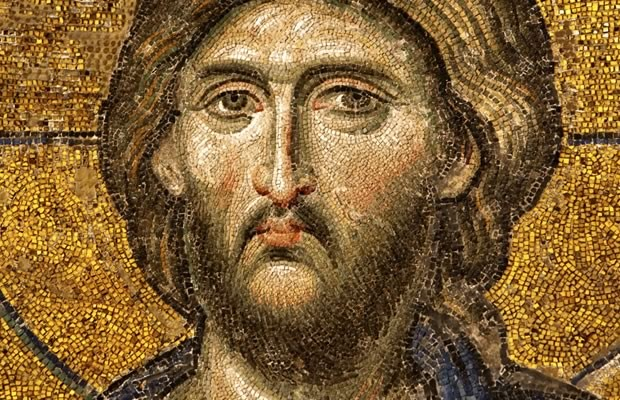 Mural of Christ Pantocrator (Almighty)