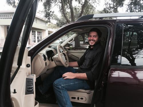 Jeremiah driving