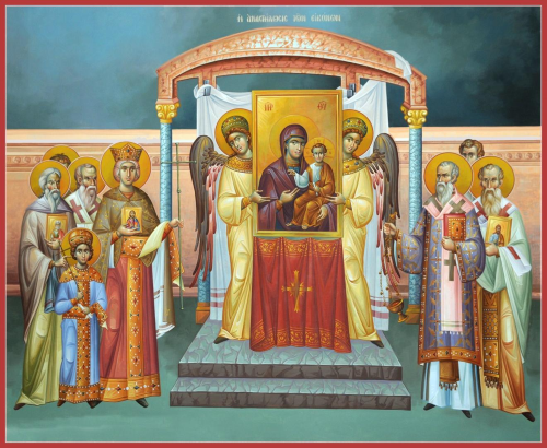 The Restoration of Icons in 843AD