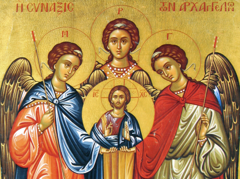 The Synaxis of the Archangels Michael, Gabriel and Raphael