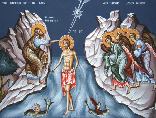 Theophany - The Baptism of Our Lord and Savior Jesus Christ