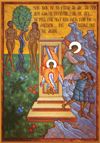 The Expulsion of Adam and Eve from the Garden