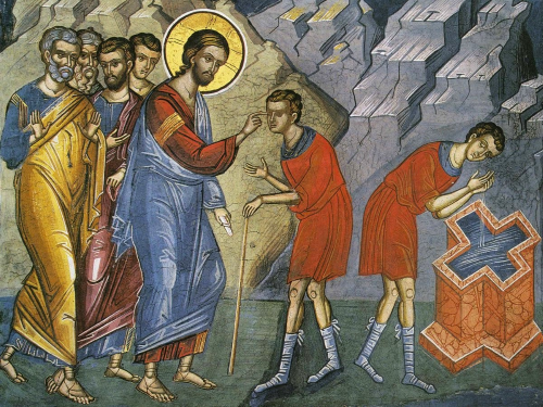 Healing of the Man Born Blind