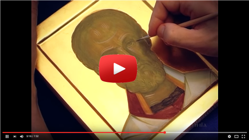 Icon of St. John the Baptist Installed at St. Peter's
