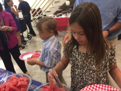 St. Peter's Names Day and American Independence Day Luncheon