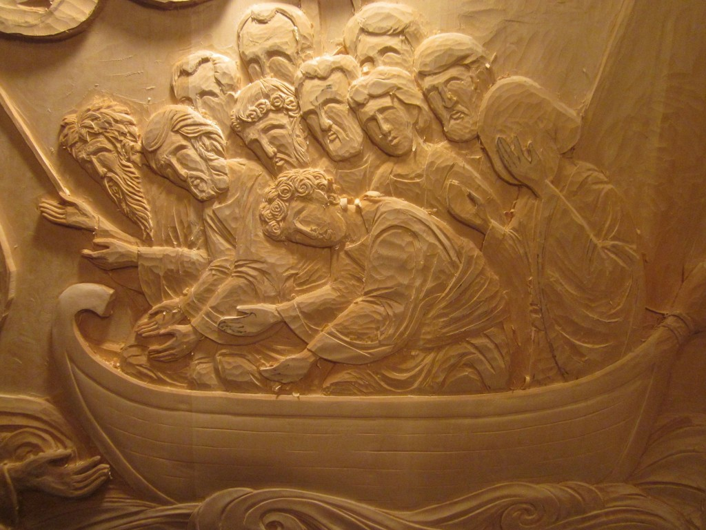 Process of Icon Carving