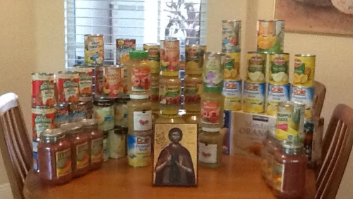 Canned Fruit for Interfaith Charities