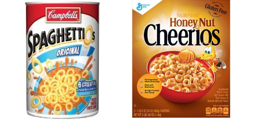 Interfaith Charities Needs Cereal and Spaghettios