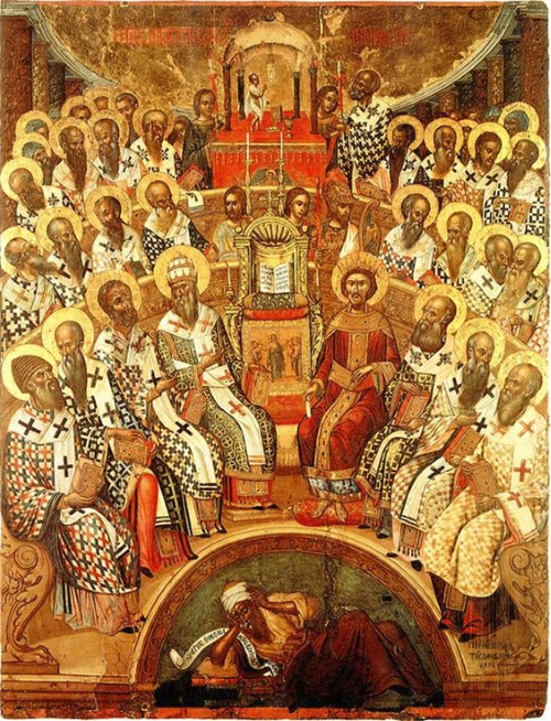 The Holy Fathers of Seventh Ecumenical Council