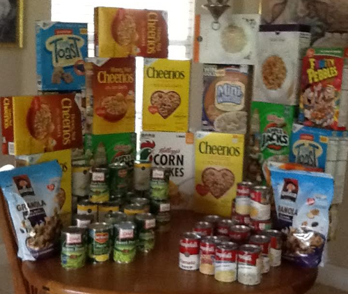 Interfaith Charities Food Collected