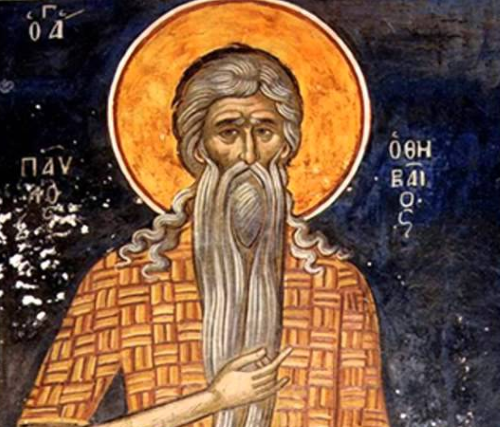 ASt. Paul of Thebes