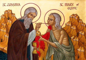 Fr. Zossima and St. Mary of Egypt