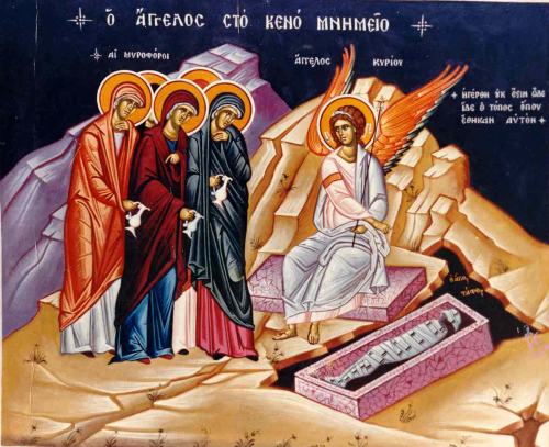 The Sunday of the Holy Myrrhbearers