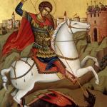 St. George Divine Liturgy on Monday, April 23, 2018 at 9:30am