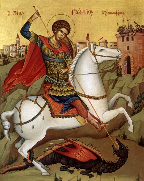 St. George the Great Martyr and Miracle Worker