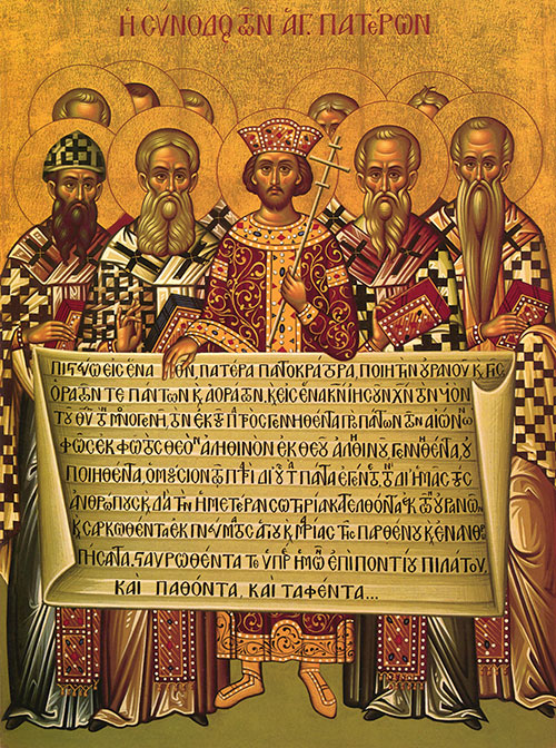 The 318 Fathers of the First Ecumenical Council