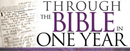 Read the bible in one year