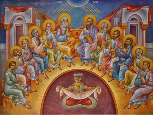 Pentecost — The Descent of the Holy Spirit