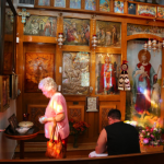 Pilgrimage to St. Michael's Shrine in Tarpon Springs on August 12, 2017
