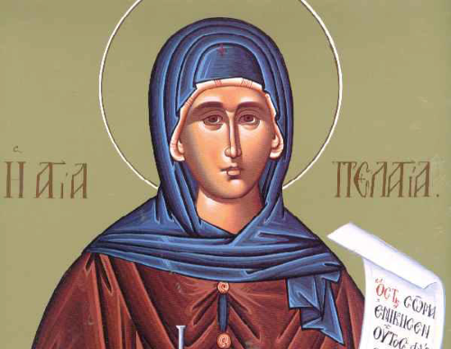 Righteous Mother Pelagia the Penitent of Antioch
