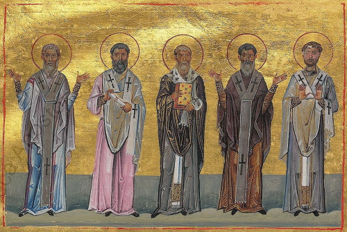 The Apostles Hermas, Linus, Gaius, Patrobas and Philologos