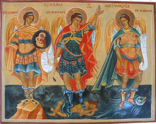 Synaxis of the Archangels Michael, Gabriel, Raphael and the Heavenly Hosts
