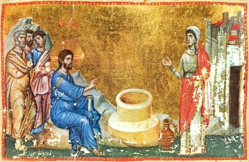 Jesus Speaks with the Woman of Samaria