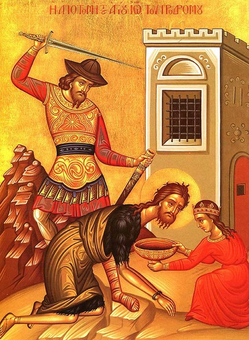 The Beheading of St. John the Forerunner