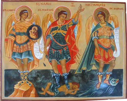 Synaxis of the Archangels and Bodiless Powers