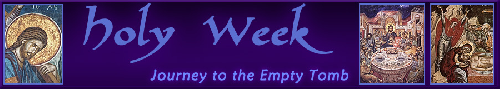 Click to learn about holy week