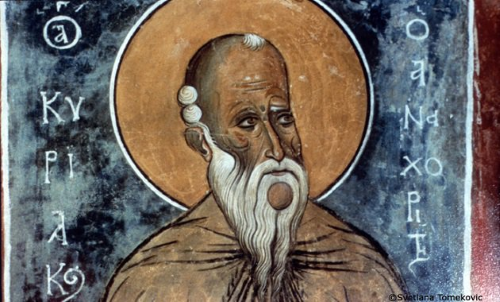Venerable Kyriakos the Hermit of Palestine