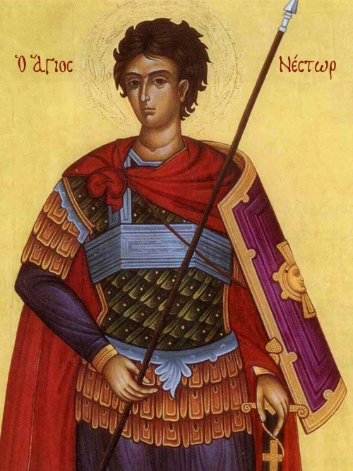 The Martyr Nestor of Thessalonica