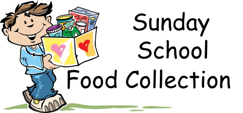 Sunday School Holiday Food Drive