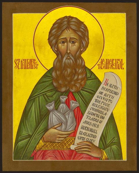 Righteous Philaret the Almsgiver