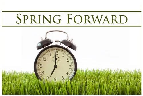 Turn you clocks forward!