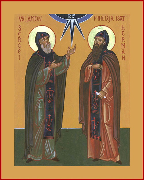 Venerable Sergios and Herman, Wonderworking Abbots of Valaam