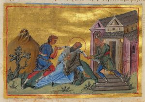 The Martyrdom of St. Paul the Confessor, Patriarch of Constantinople