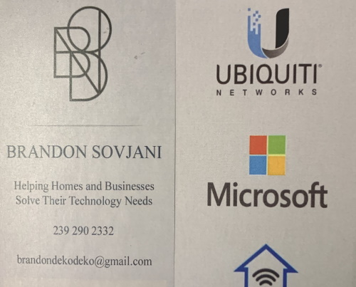 Brandon Sovjani Home Networking