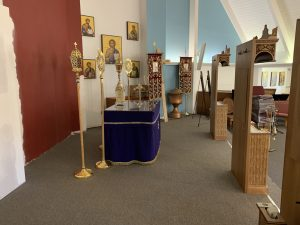 Side of altar