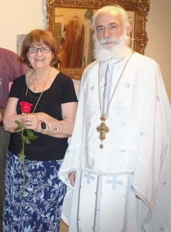 Fr. Emmanuel and Presbytera Barbara