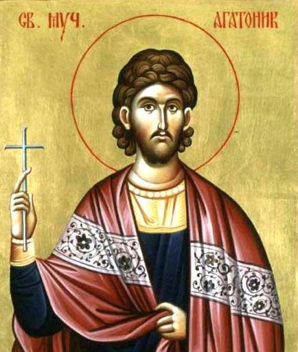 Martyr Agathonikos of Nicomedia