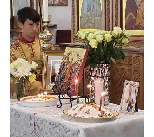 Memorials for Maria Ninos and Stavros Mailikakes